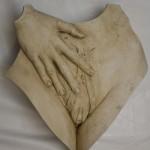 Body sculptuur Unzipped
